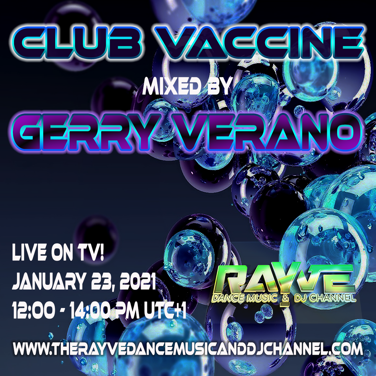 Club Vaccine mixed by Gerry Verano